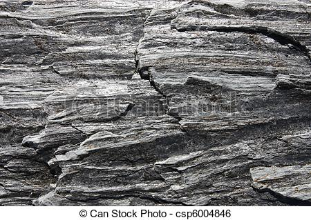 Stock Image of Gneiss rock.