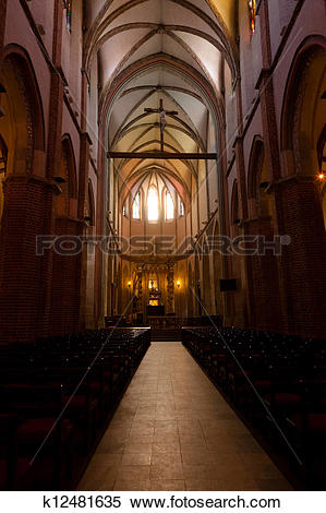 Stock Image of Gniezno Cathedral Basilica k12481635.