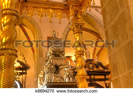 Stock Photography of Gniezno Cathedral Basilica k6694270.