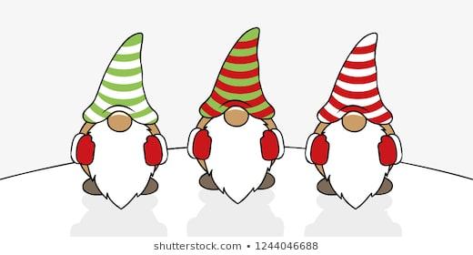 501 Gnome free clipart.