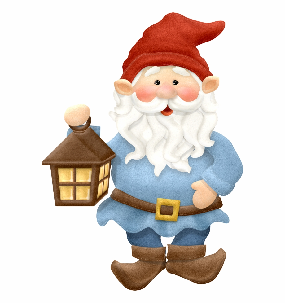 Free Gnome Clipart Black And White, Download Free Clip Art.