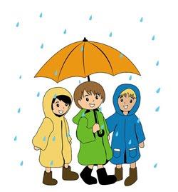 Gallery For > Rain Rain Go Away Clipart.