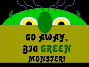 Go Away Big Green Monster Powerpoint Activity.