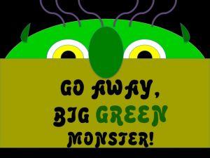 Go Away Big Green Monster Powerpoint Activity.