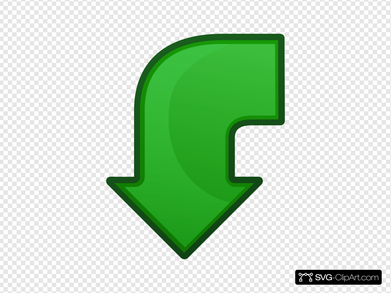 Arrow Go Back Clip art, Icon and SVG.