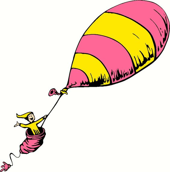 Oh the places you'll go hot air balloon clipart.
