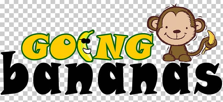 Going Bananas PNG, Clipart, Area, Banana, Brand, Cartoon.
