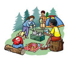 Go camping clipart » Clipart Portal.