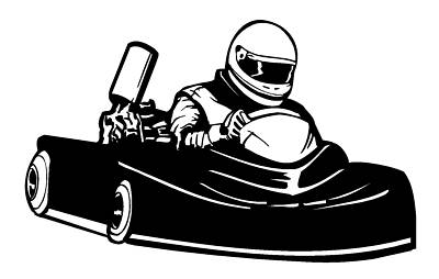 Go karting clipart 2 » Clipart Station.
