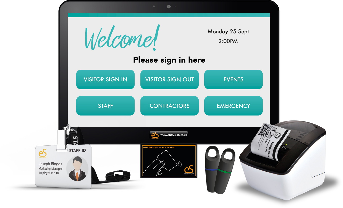 EntrySign Visitor Management System.