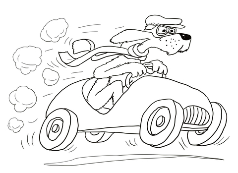 Go Dog Go Coloring Pages.