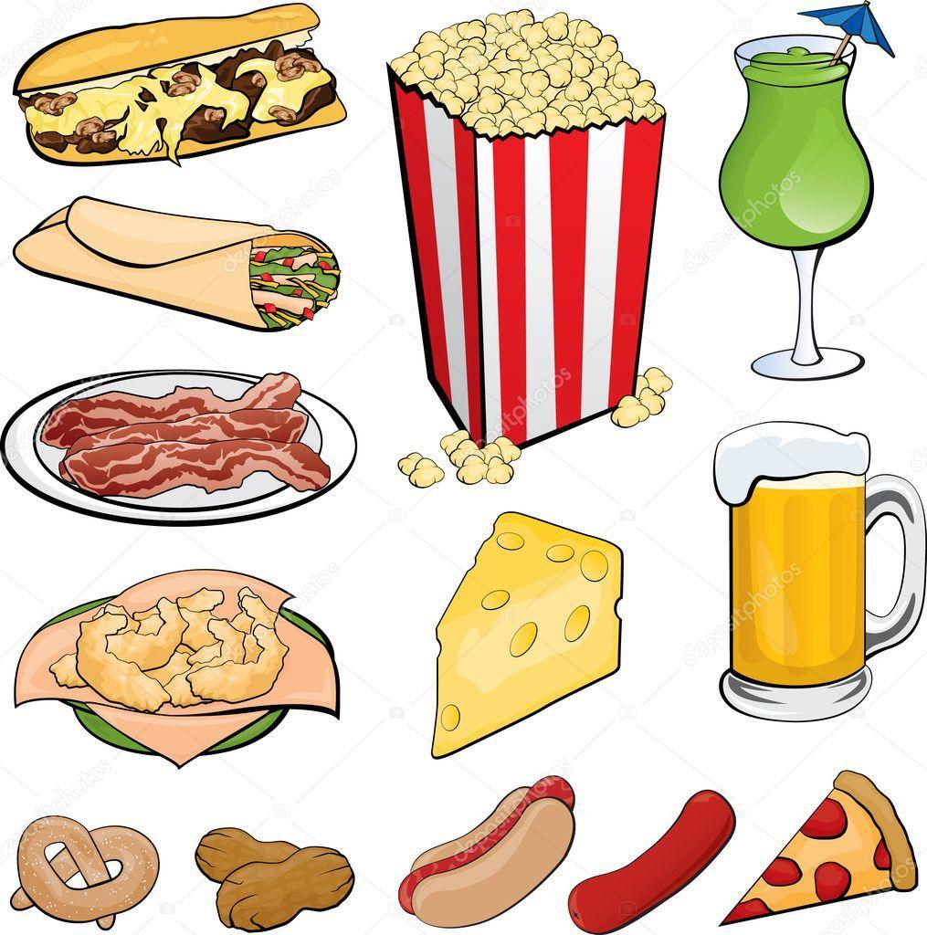 Clipart of go foods 6 » Clipart Portal.