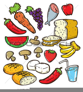Examples Of Go Foods Clipart.