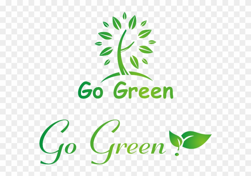 Logo Go Green Vector.