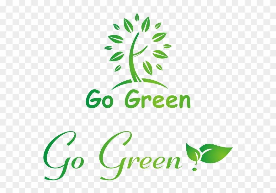Logo Go Green Vector.