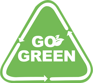 Go Green Logo Vector (.AI) Free Download.
