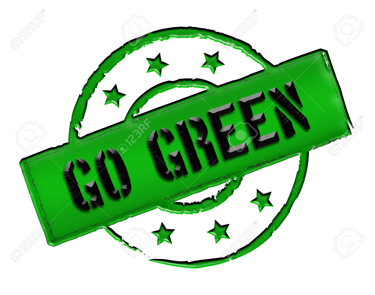 Green Go Sign.