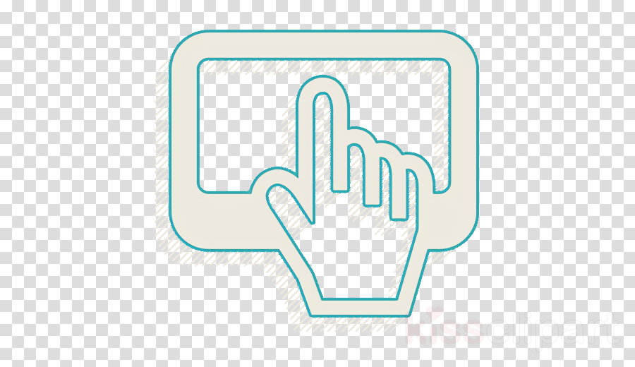 button push icon finger icon go icon clipart.