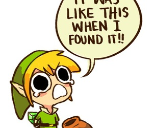 It's dangerous to go alone by My_name_is_Link on WHI.