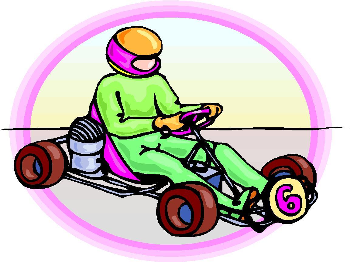 Go Kart Track Clipart.