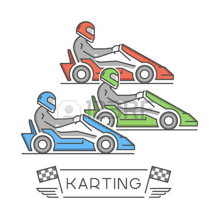 382 Go Kart Stock Illustrations, Cliparts And Royalty Free Go Kart.