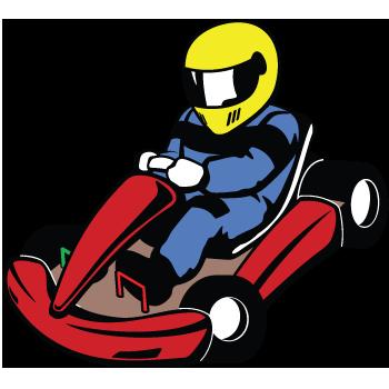 Go karting clipart 1 » Clipart Station.
