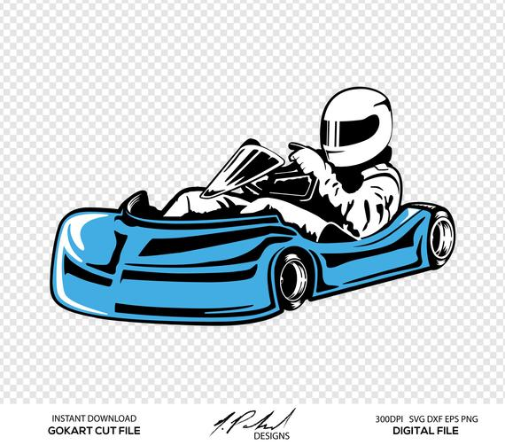 GoKart Digital Cut Files.
