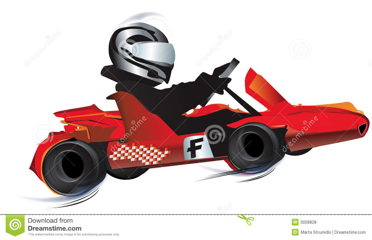 Kart Stock Illustrations.