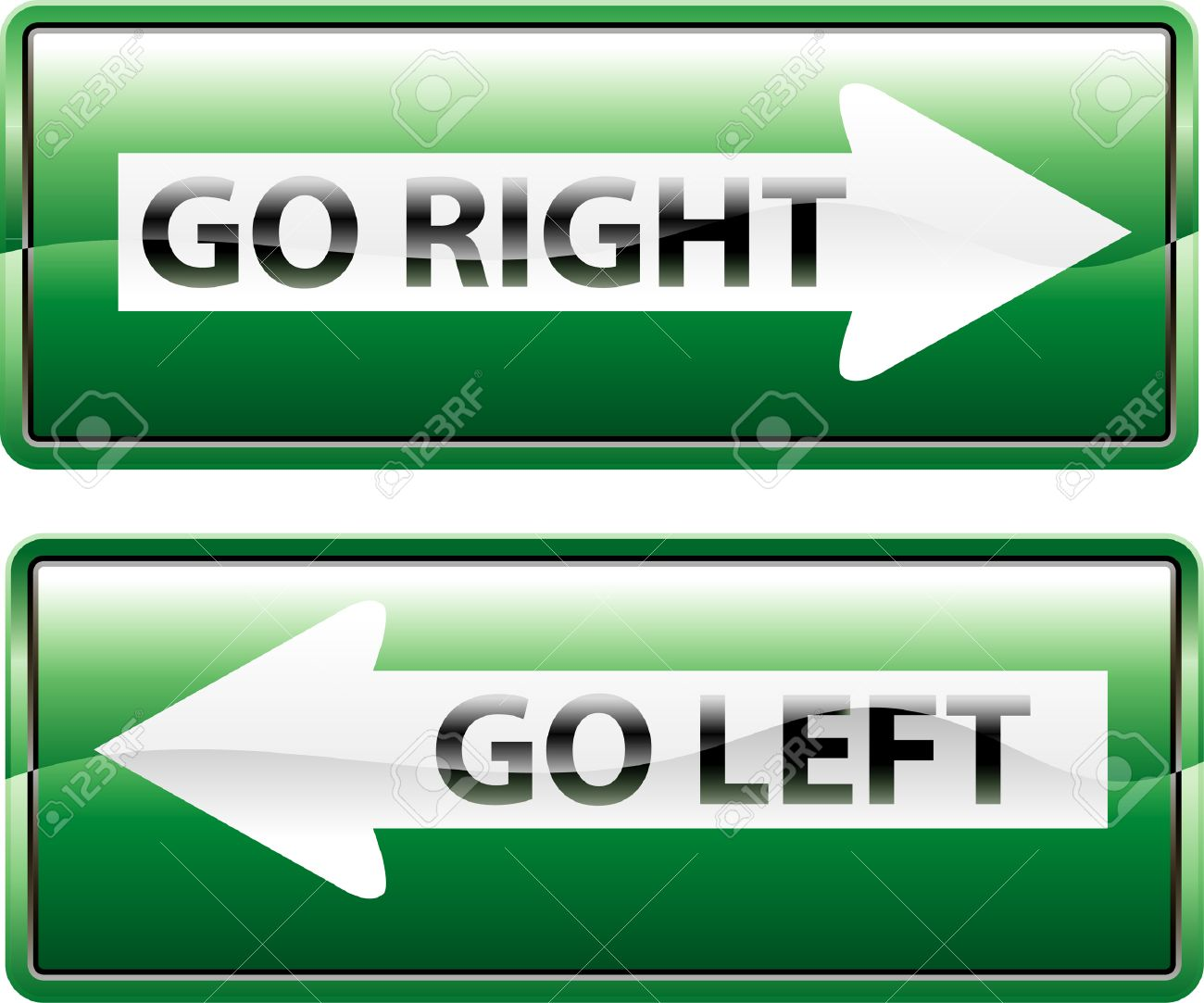 Go left or right clipart - Clipground