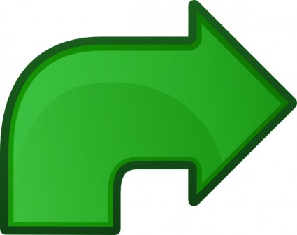 Free clipart arrow pointing left drawn.