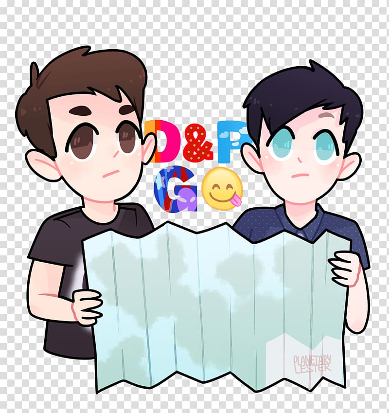 Dan and Phil Go Outside Drawing, funny cat transparent.