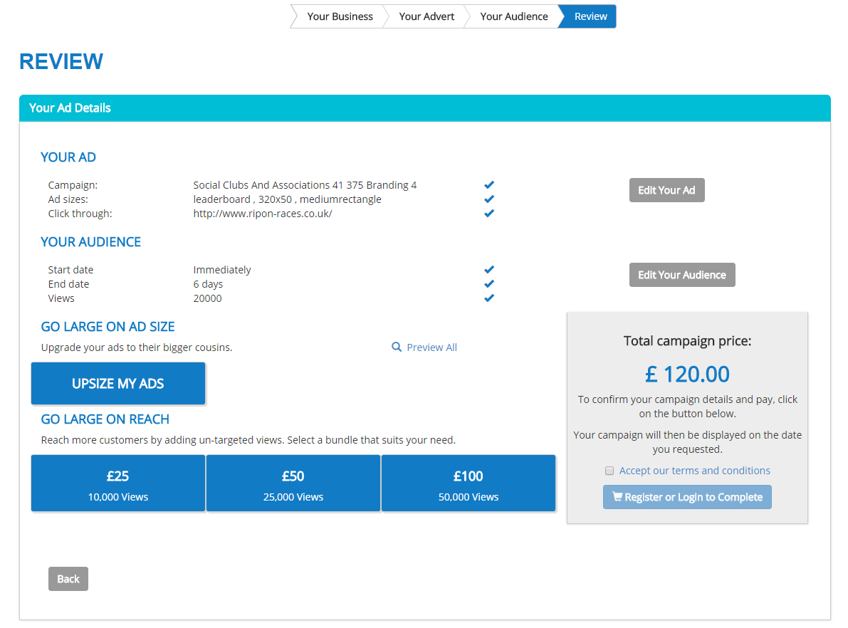 Create revenue building ad portals with Gemstone Self Service.