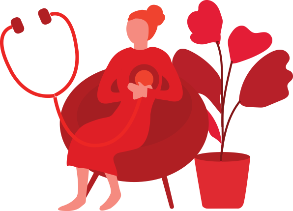 Go Red For Women 2018 Clipart.