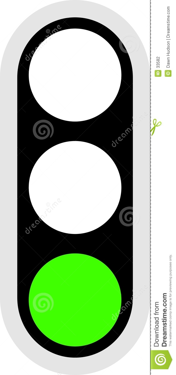 Traffic Signal Icon Stock Photography.