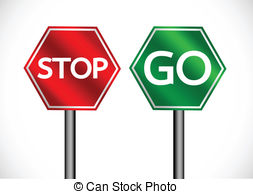 Stop go Illustrations and Stock Art. 2,349 Stop go illustration.