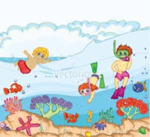 I Go Swimming In The Sea.