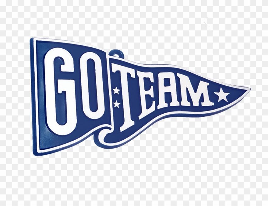 Go Team Pennant Clipart.