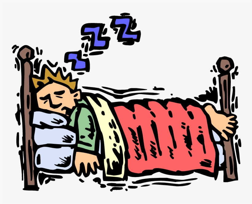 Go To Bed, Color, Cartoon, Sleeping Boy Png Image And.