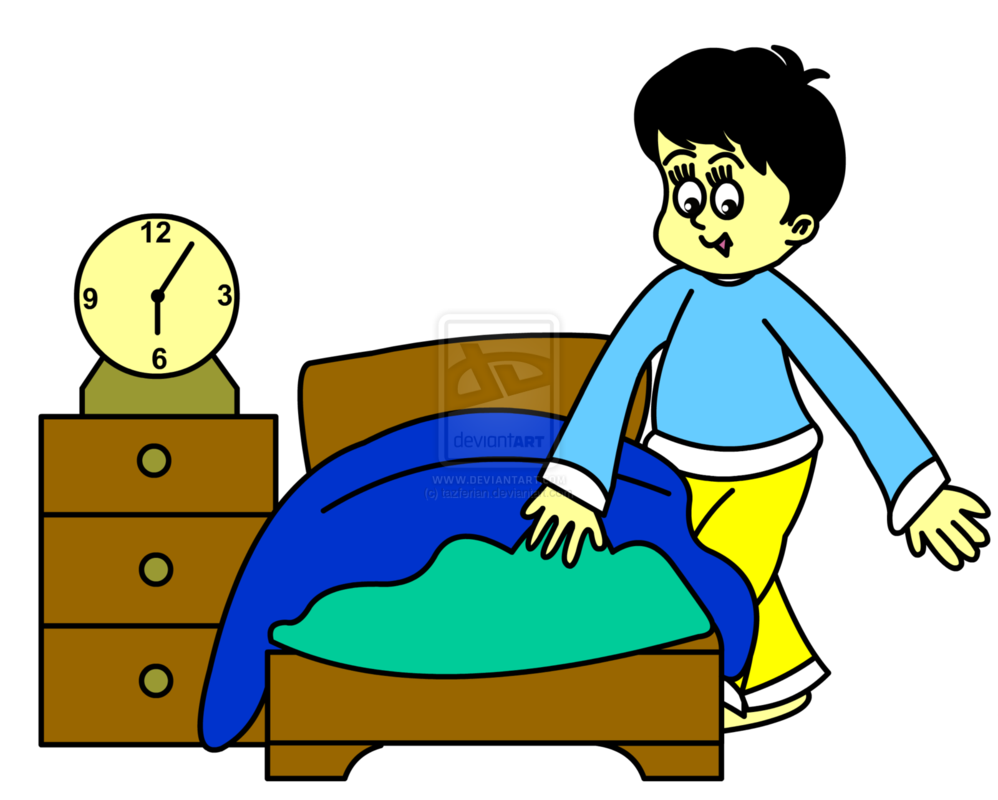Go To Sleep Clipart.
