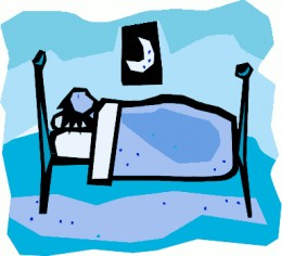 Go to bed clipart.