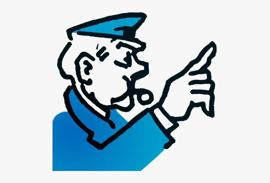 Clipart Monopoly Go To Jail , Free Transparent Clipart.