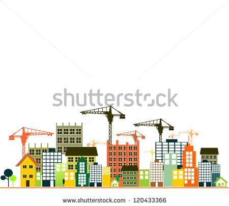 Building Under Construction Clipart.