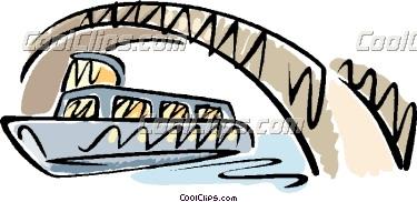Under the Bridge Clip Art.