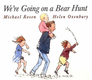 We're Going On A Bear Hunt Clip Art.