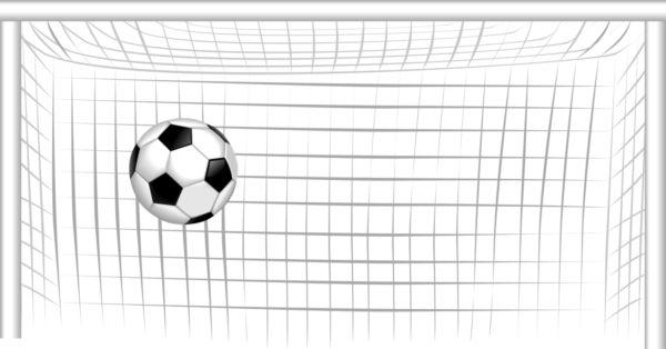 Soccer Goal Clipart.