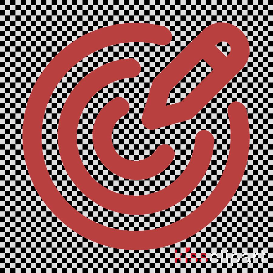 Design Thinking icon Goal icon clipart.