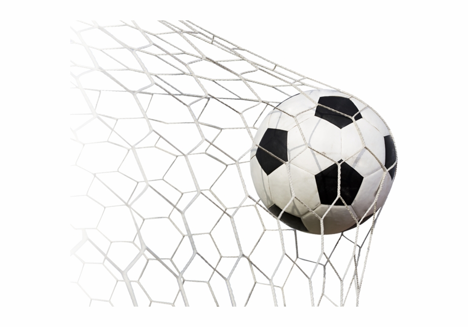 Soccer Ball And Goal Png.