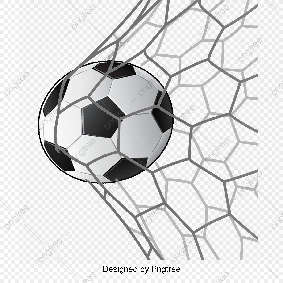 Hand Painted Football Goals, Football Clipart, Movement, Football.