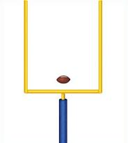 Free Football Goal Post Clipart.