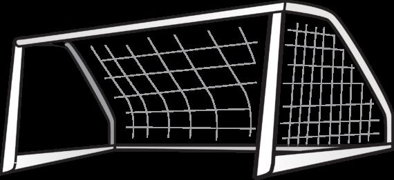 Free Clip art of Goalpost Clipart #260 Best Clipart Football Goal.